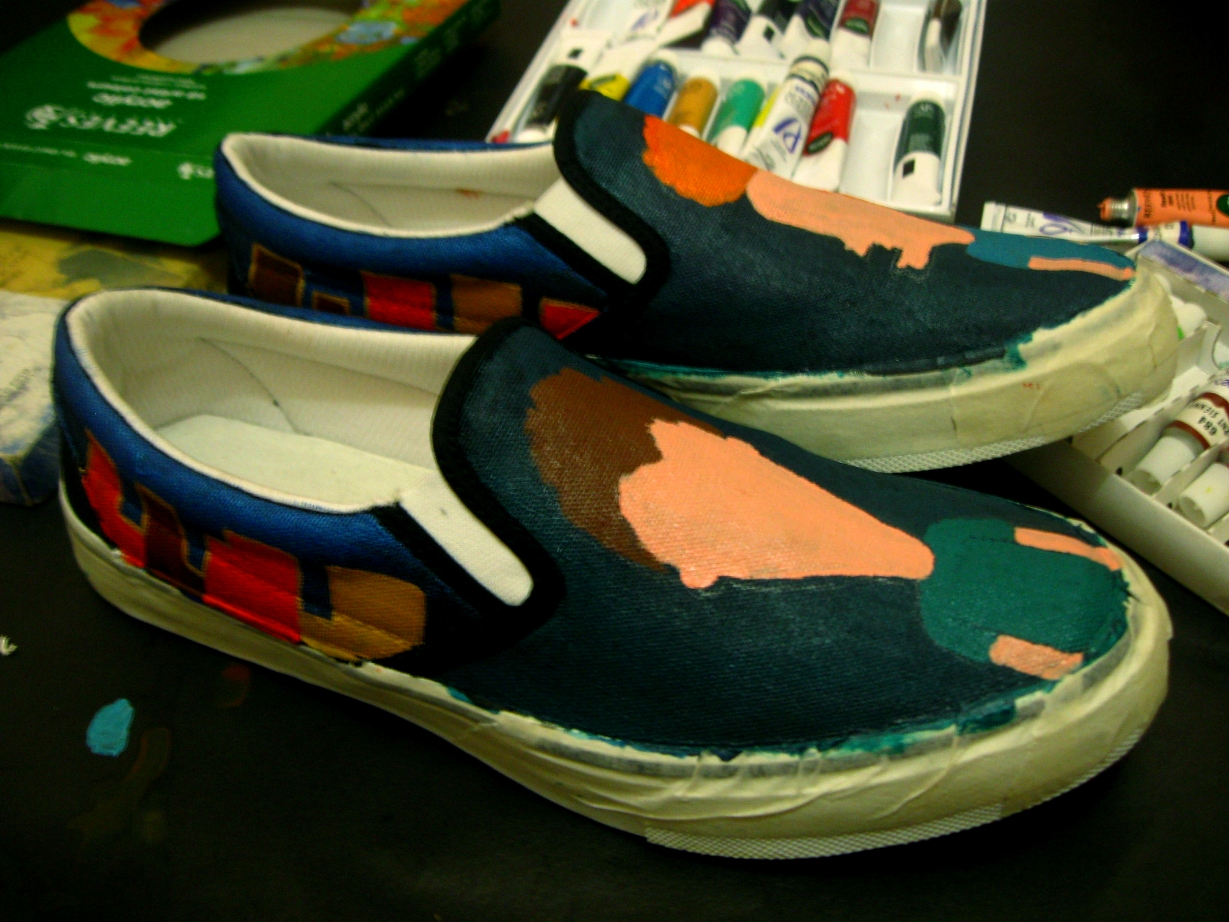 DIY: Personalized Hand Painted Shoes