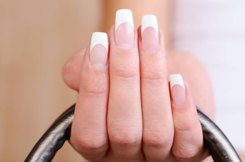 Doing The French Nails