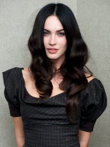 Megan-Fox-wavy-hair
