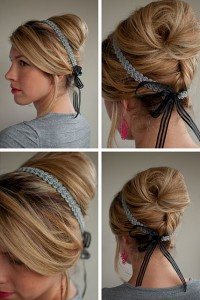 beehive-headband-hairstyle-collage