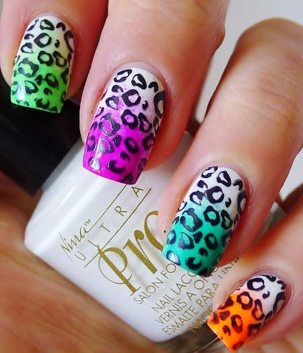 22 Great Ideas For Animal Print Nail Arts