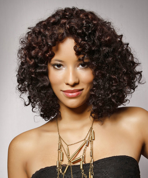 Remarkable Medium Hairstyles For Curly Hair Hairstyles For Women Draintrainus