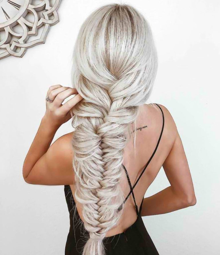 Fishtail Braid Wedding Hairstyles: 70 Stunning Fishtail Braid Inspirations For A Romantic Look
