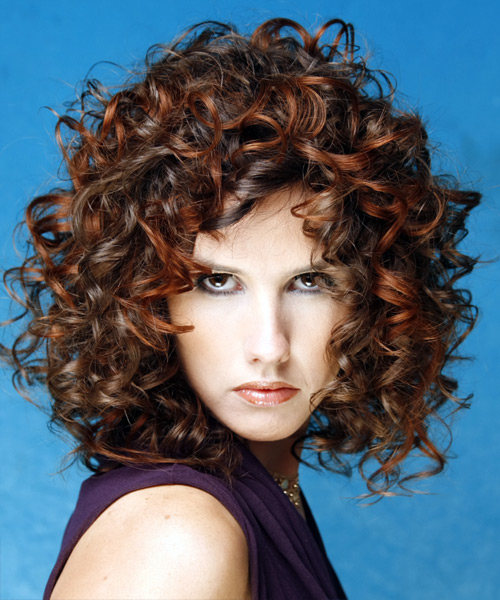 shoulder length haircuts for curly hair medium hairstyles for curly hair 1834