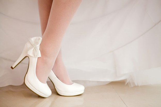 8 Tips For Making Your Wedding Shoes Comfortable